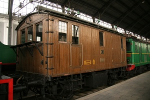Brown Boveri electric locomotive of 1911