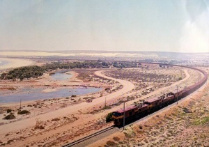 Iron ore train on the Sishen Line
