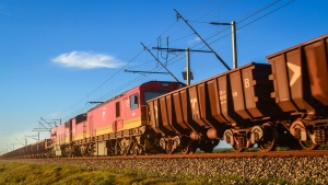 Iron ore train Sishen line